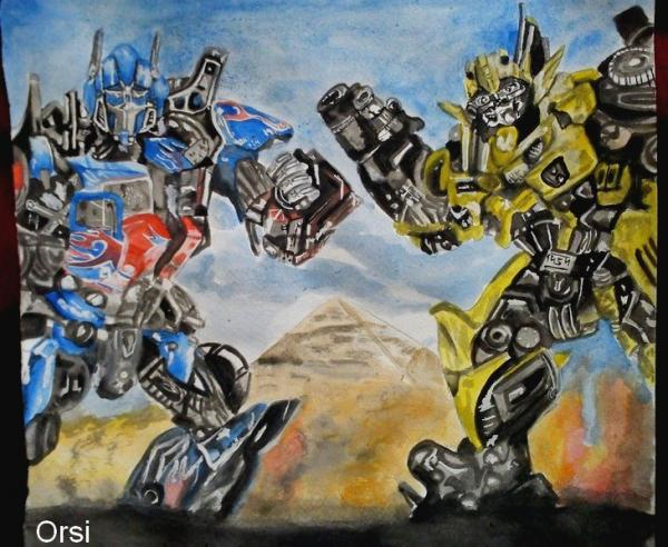 Transformers by Orsi